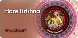 Why Chant Hare Krishna